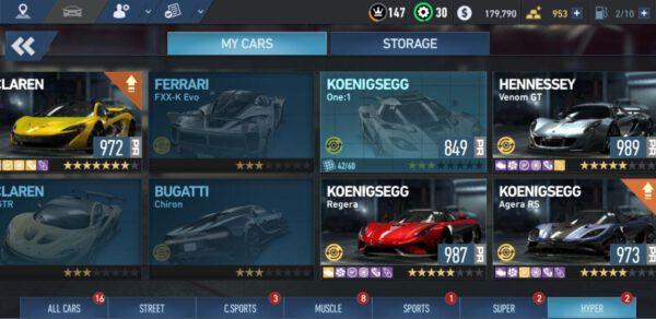 اکانت بازی Need For Speed